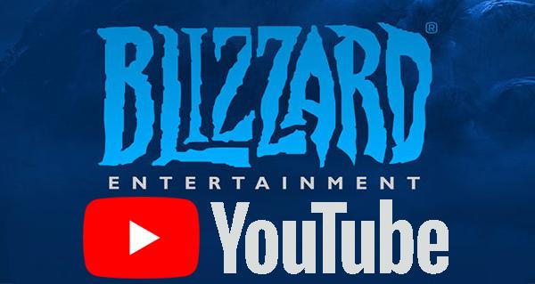 blizzard signe un contrat d'exclusivite avec youtube pour ses rencontres esport
