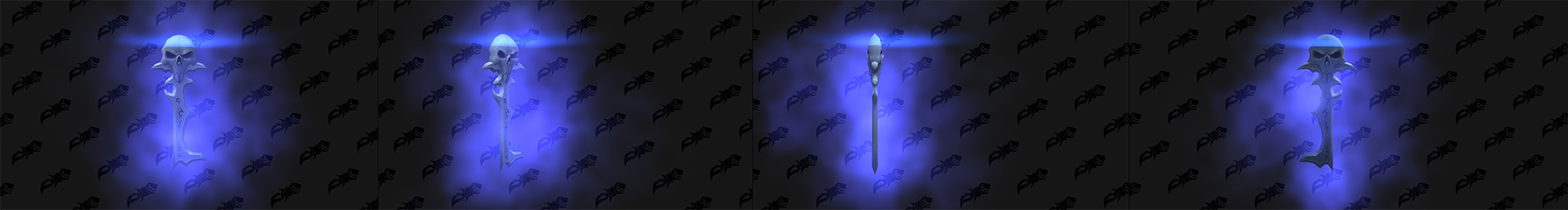Shadowlands : modèle de clé du coffre de domination