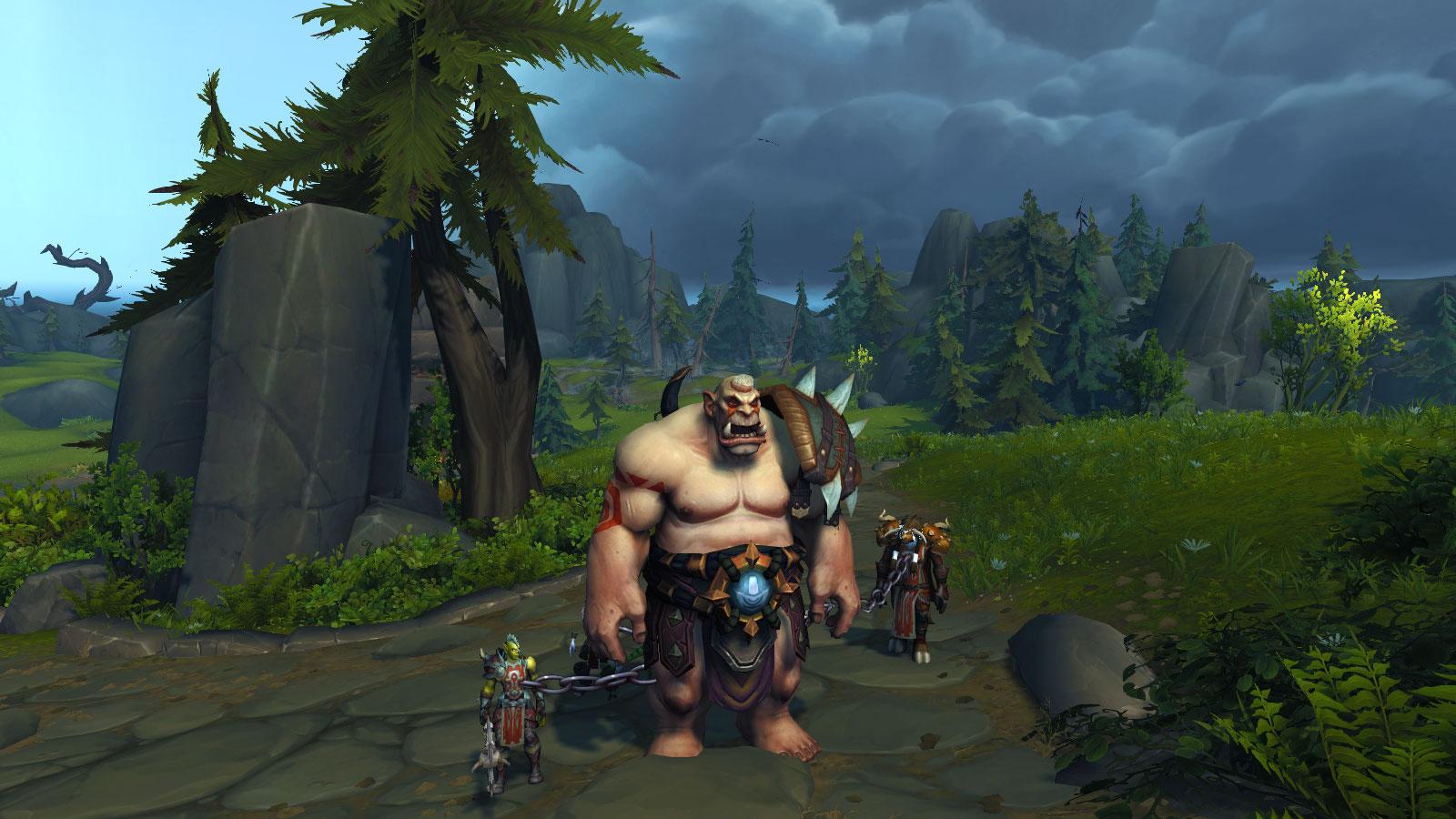 Prenez l'apparence d'une ogresse sur les Confins de l'Exil