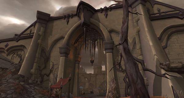shadowlands : apercu en images du sanctum des venthyr