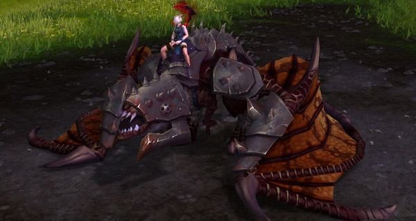 toutes les montures gladiateur seront liees au compte a shadowlands !
