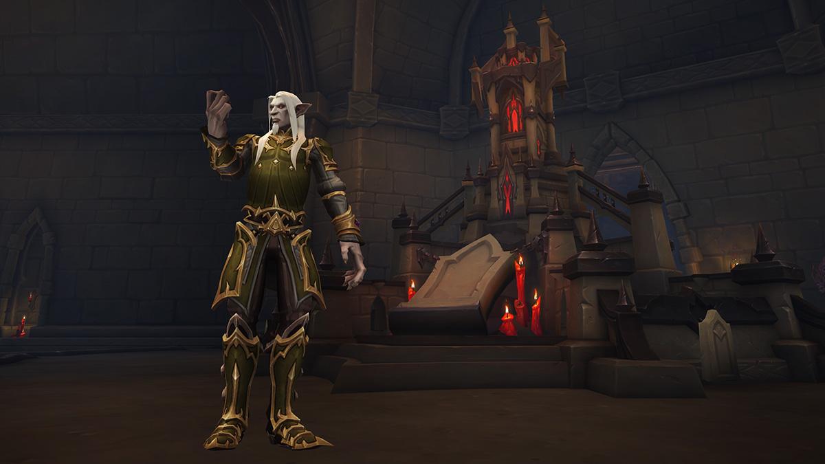 Dans Shadowlands, vous devez choisir une congrégation