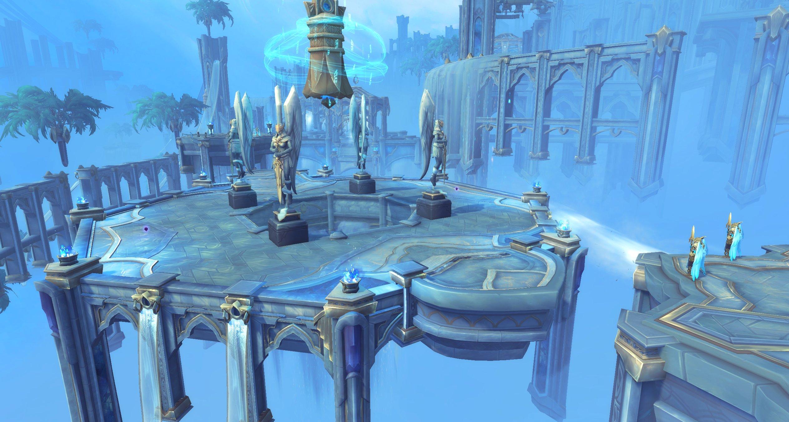 Shadowlands : une nouvelle arène situé au Bastion