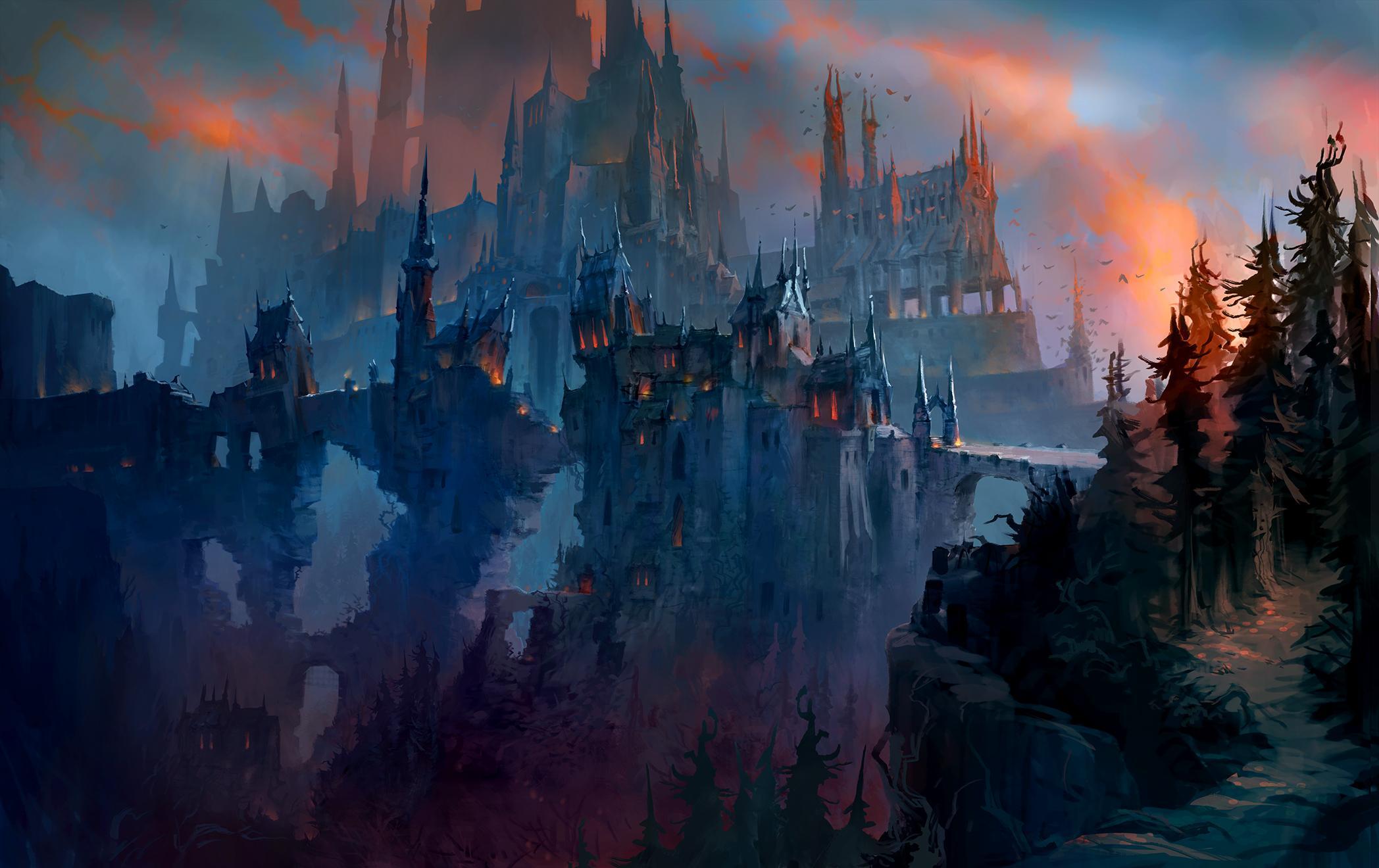 Premier raid de Shadowlands : Château Nathria dans World of Warcraft