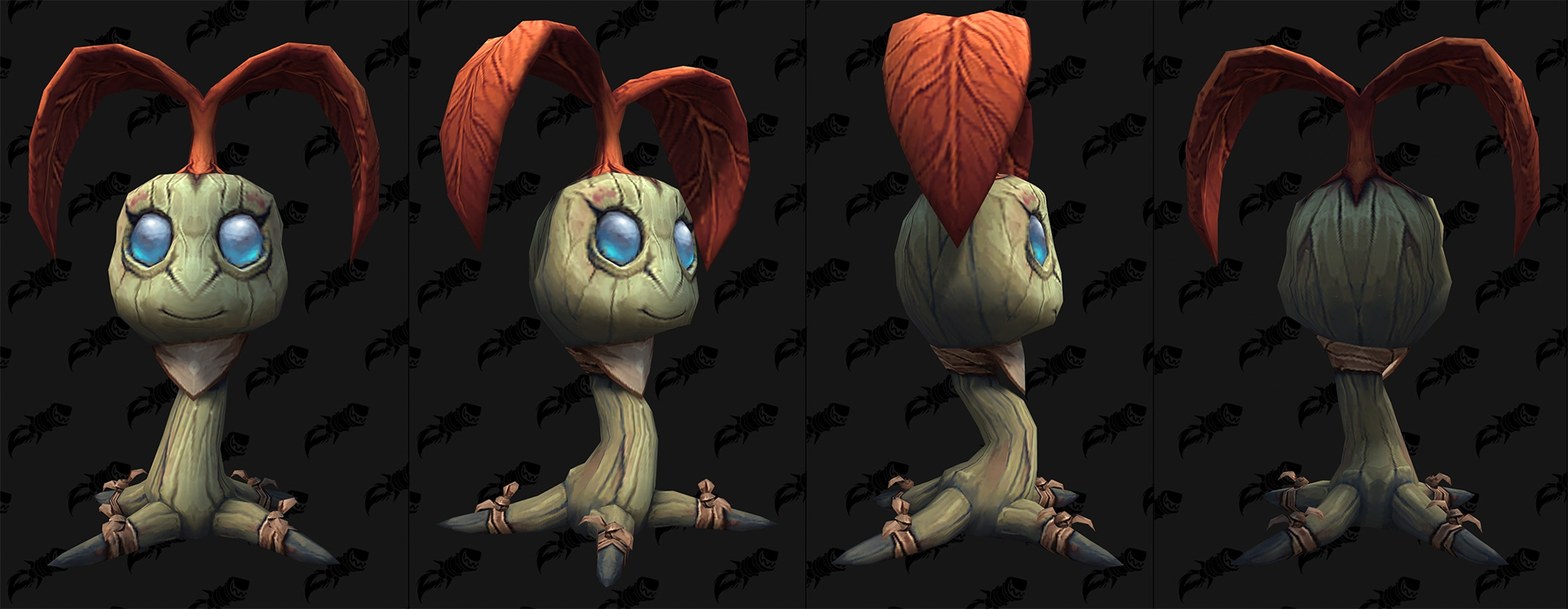 Shadowlands : modèle de mascotte arbre