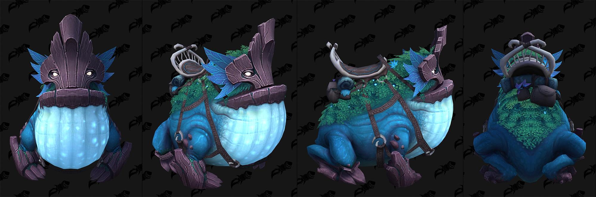 Shadowlands : modèle de monture grenouille