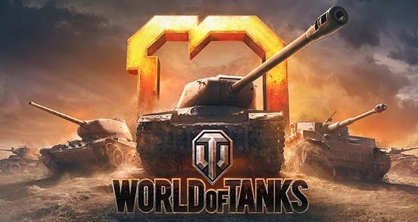 world of tanks : remportez 75 cles pour les 10 ans du jeu de simulation