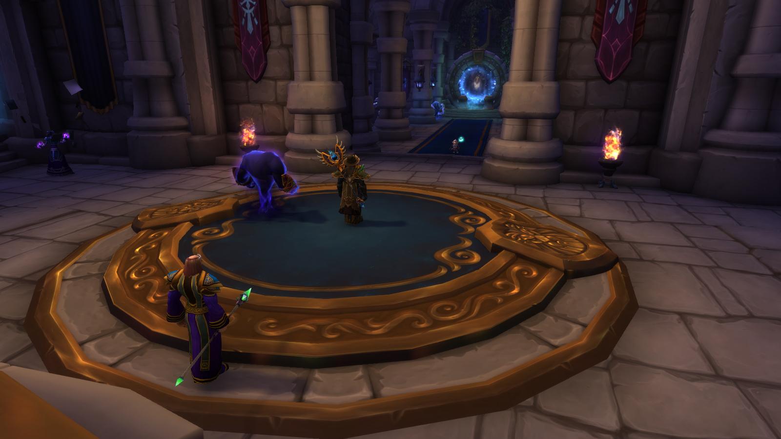 Salle aux portails à Hurlevent à Battle for Azeroth (patch 8.3)