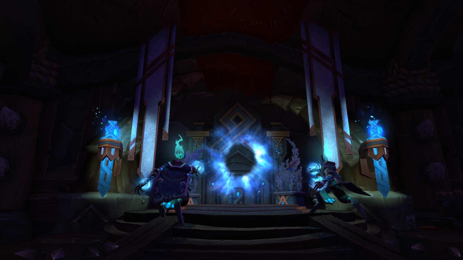 Shadowlands : portail vers Oribos à Orgrimmar