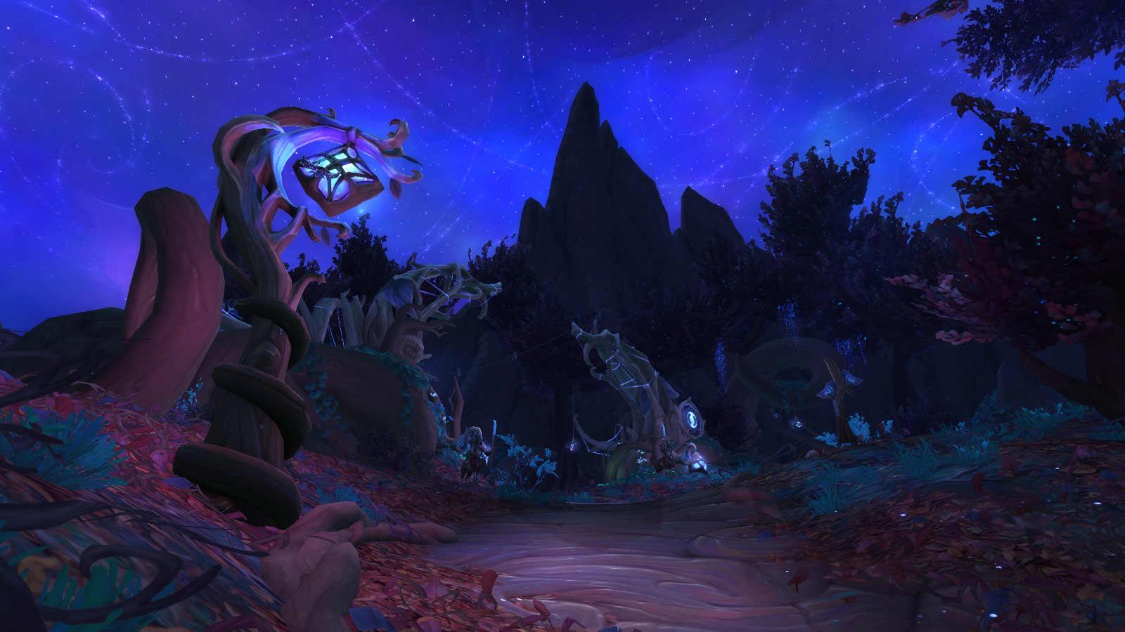 Shadowlands : Zone Sylvarden en Ombreterre