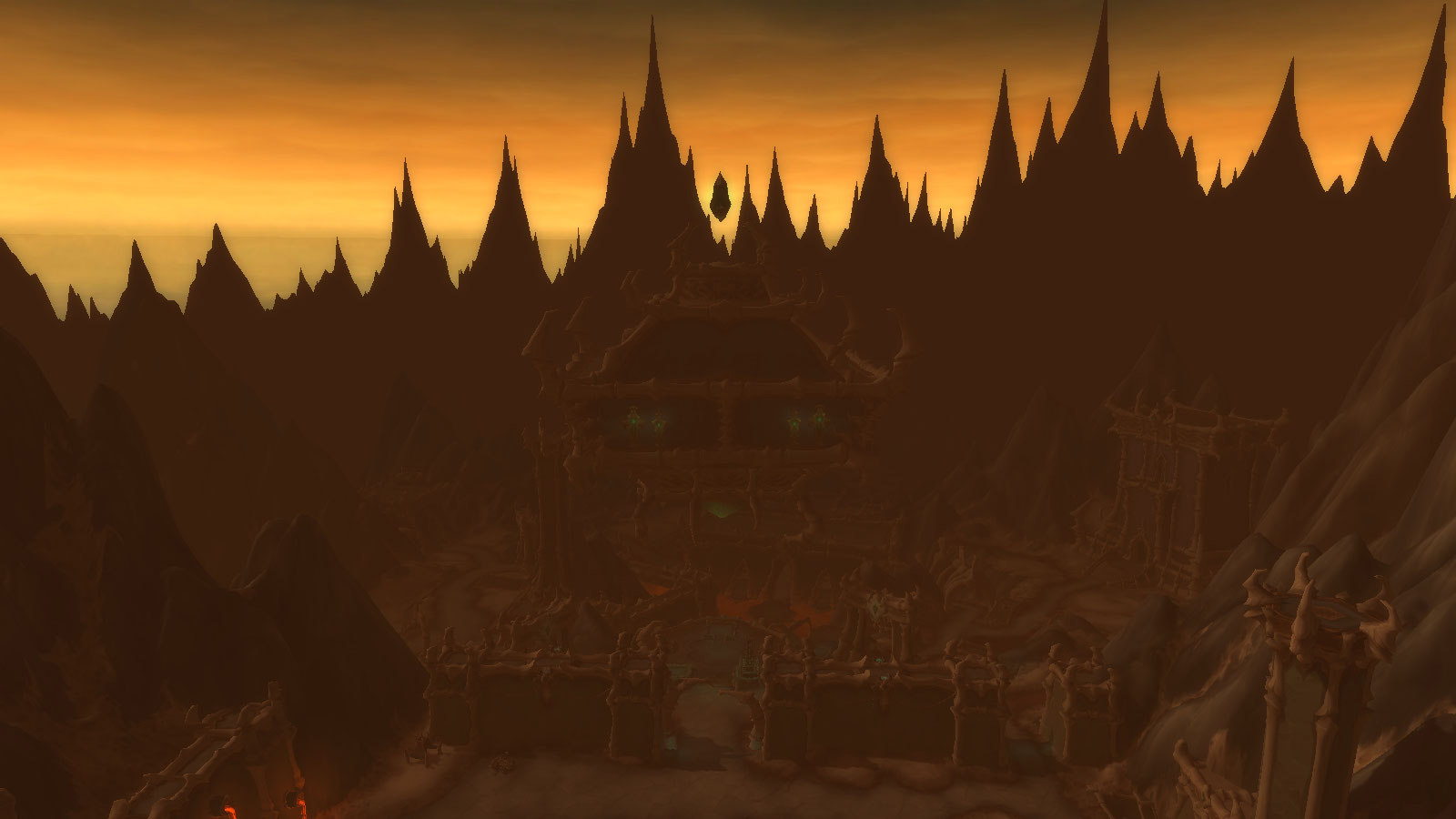 Shadowlands : zone Maldraxxus en Ombreterre