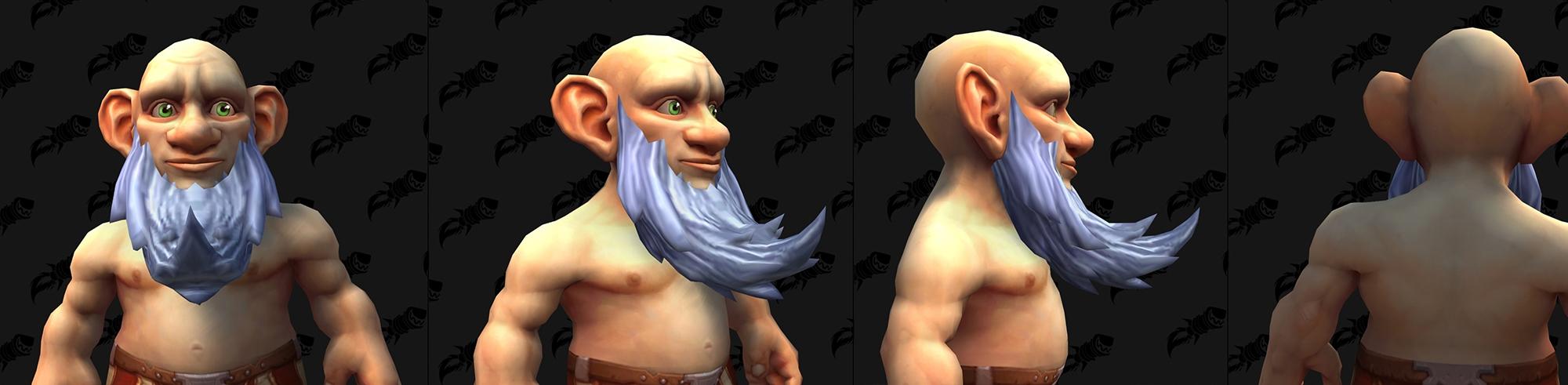 Shadowlands : Nouvelles moustaches et barbes (Gnome)