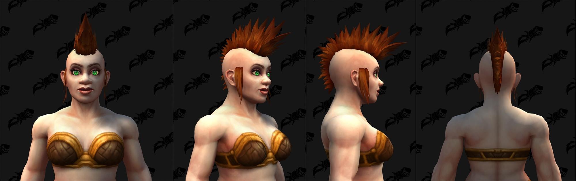 Shadowlands : Nouvelles coupes de cheveux (Nain)
