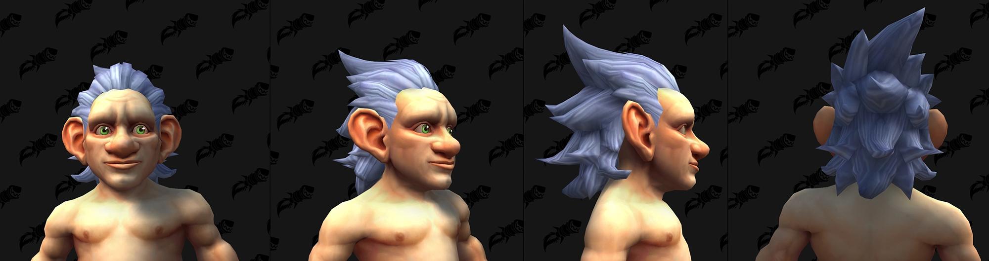 Shadowlands : Nouvelle coupe de cheveux (Gnome)