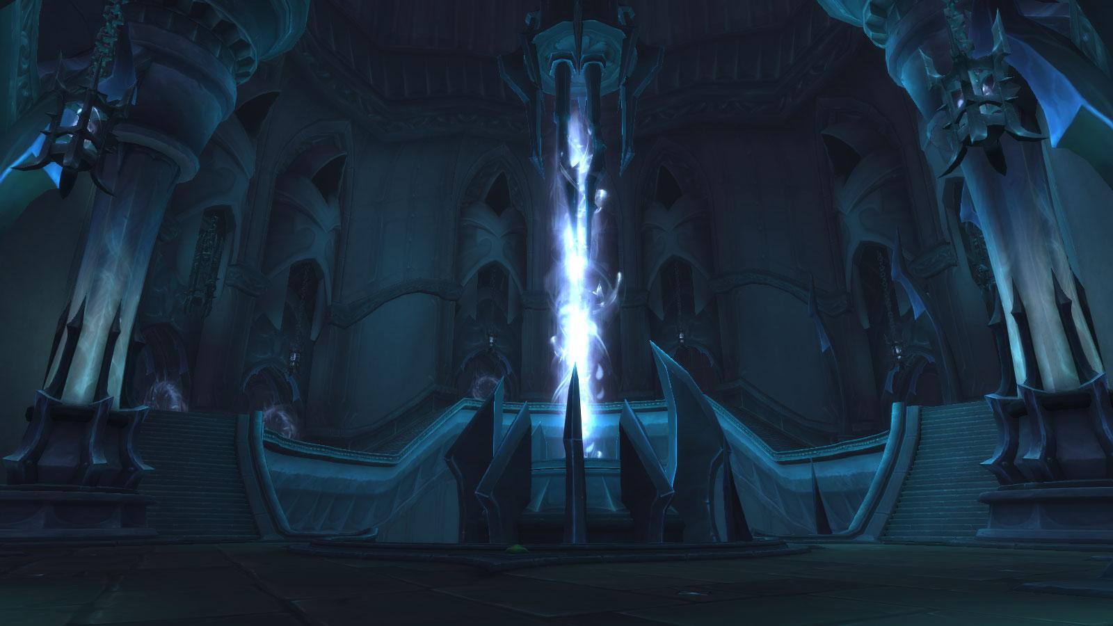 Salle des portails de Tourment, la tour des damnés