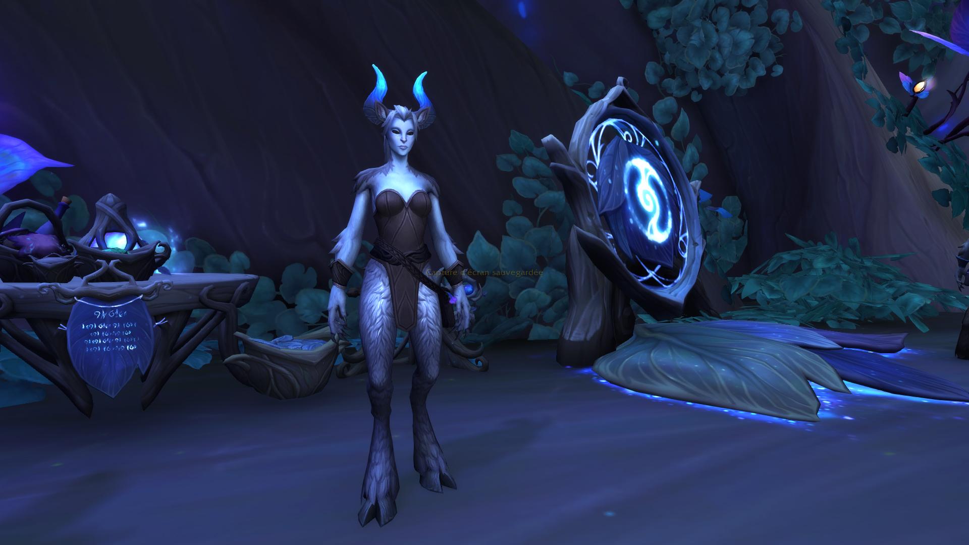Elwyn est l'intendant de Renom des Faë nocturnes située au Coeur de la Forêt