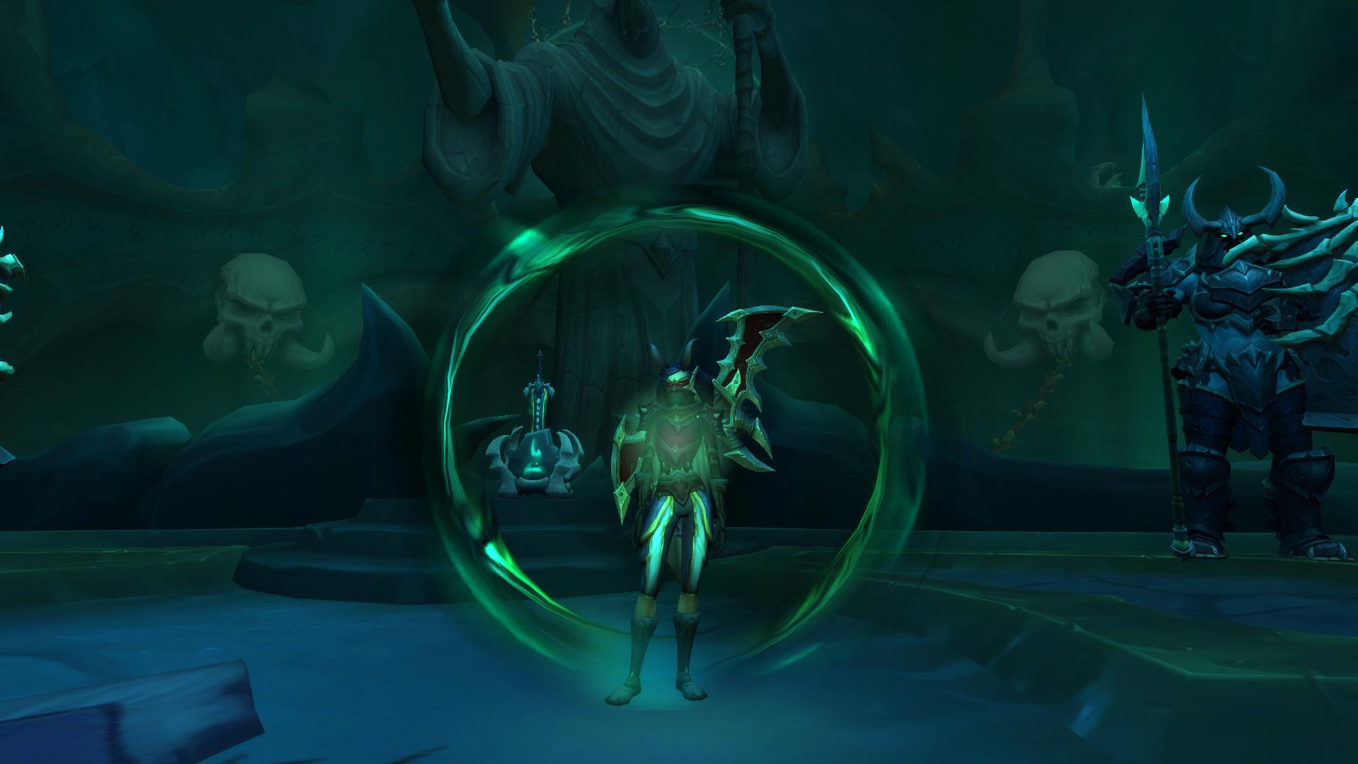 Bouclier de Chair recomposée des Nécro-seigneurs dans Shadowlands