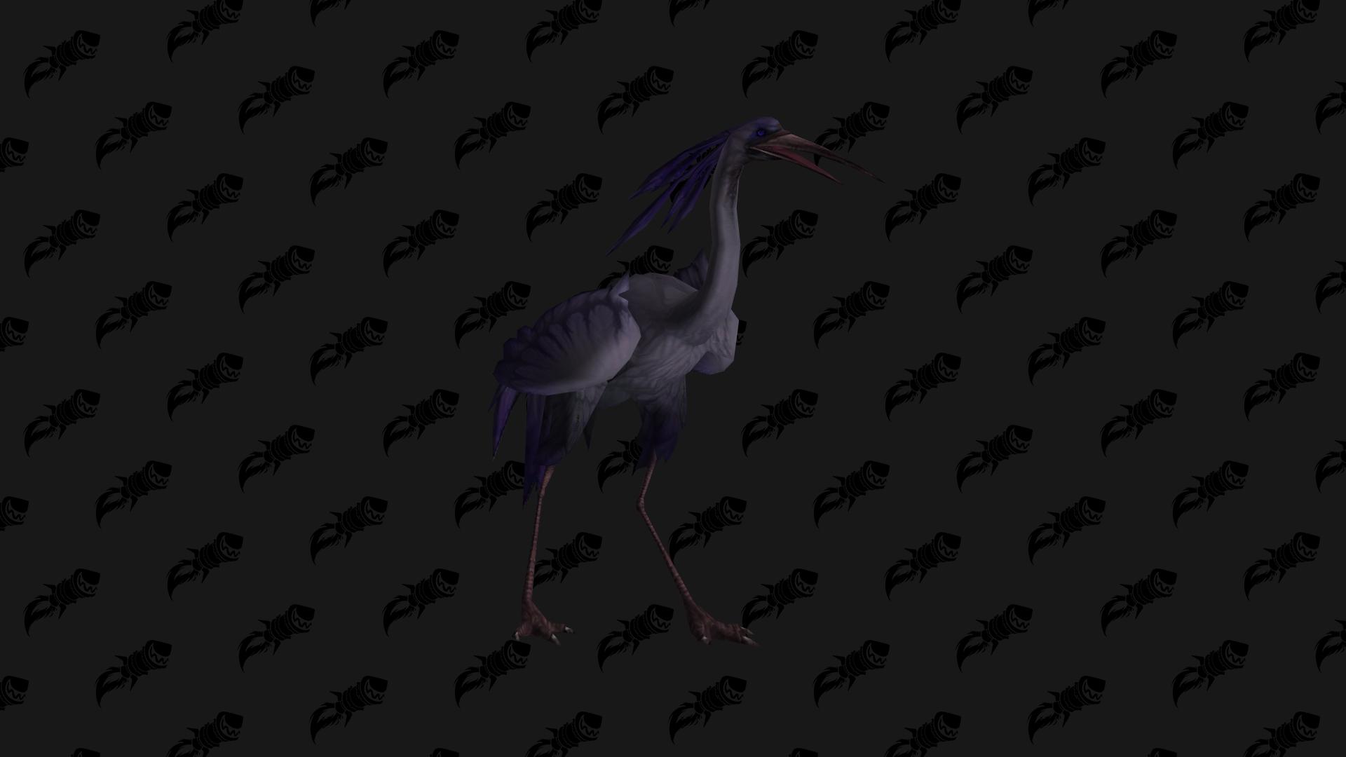 Devoured Wader, mascotte Shadowlands disponible en butin au Bastion