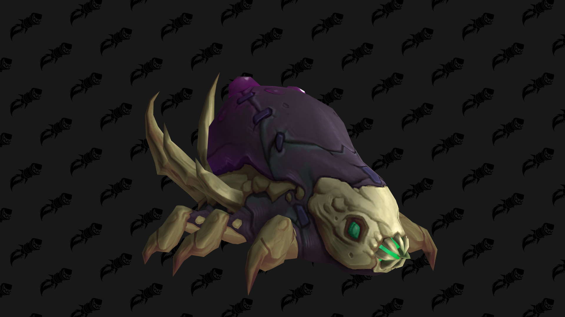 Feasting Larva, mascotte Shadowlands disponible en butin à Maldraxxus