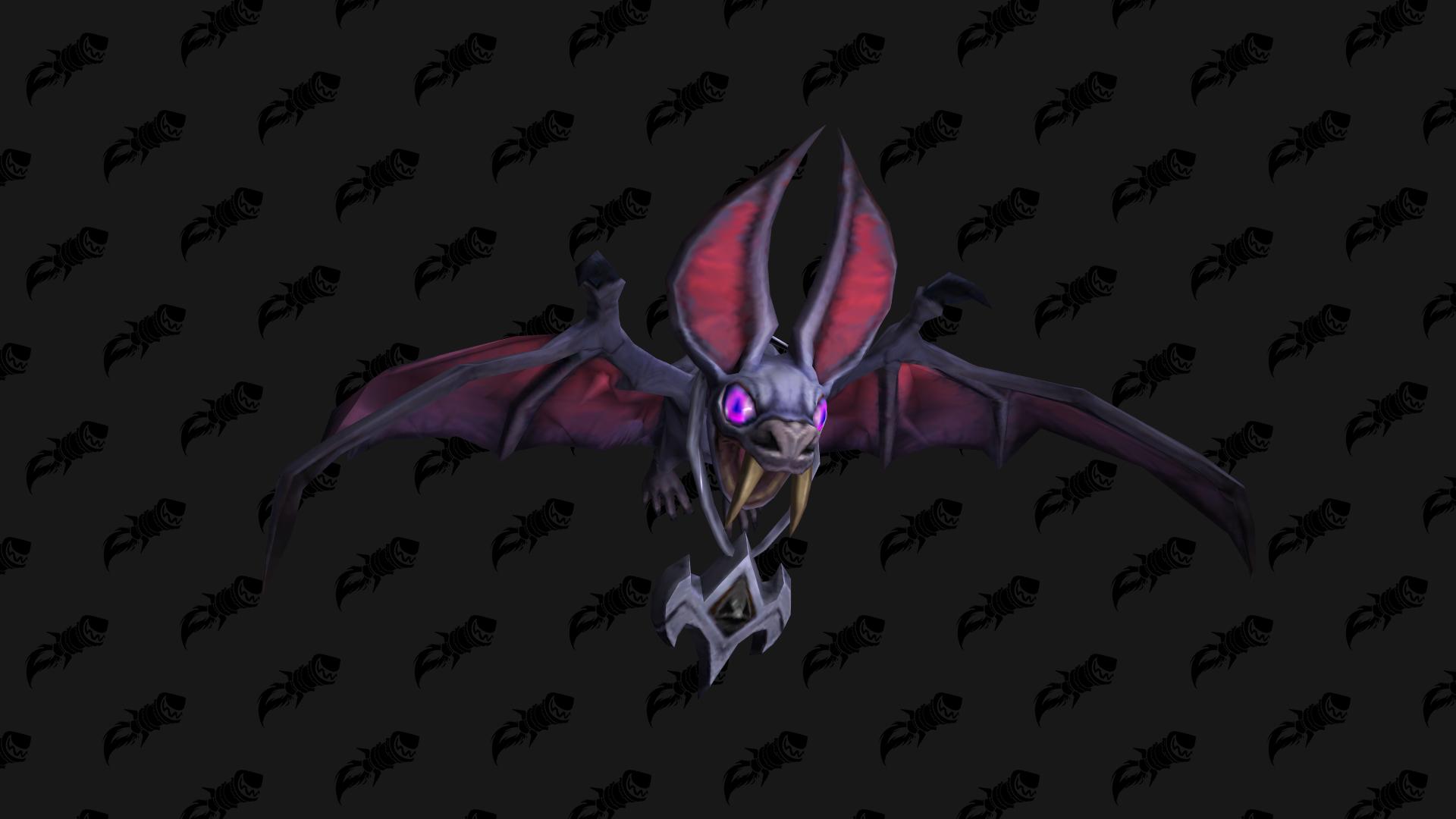 Pendentif de Vamp, mascotte Shadowlands disponible auprès de la faction Cours des braises