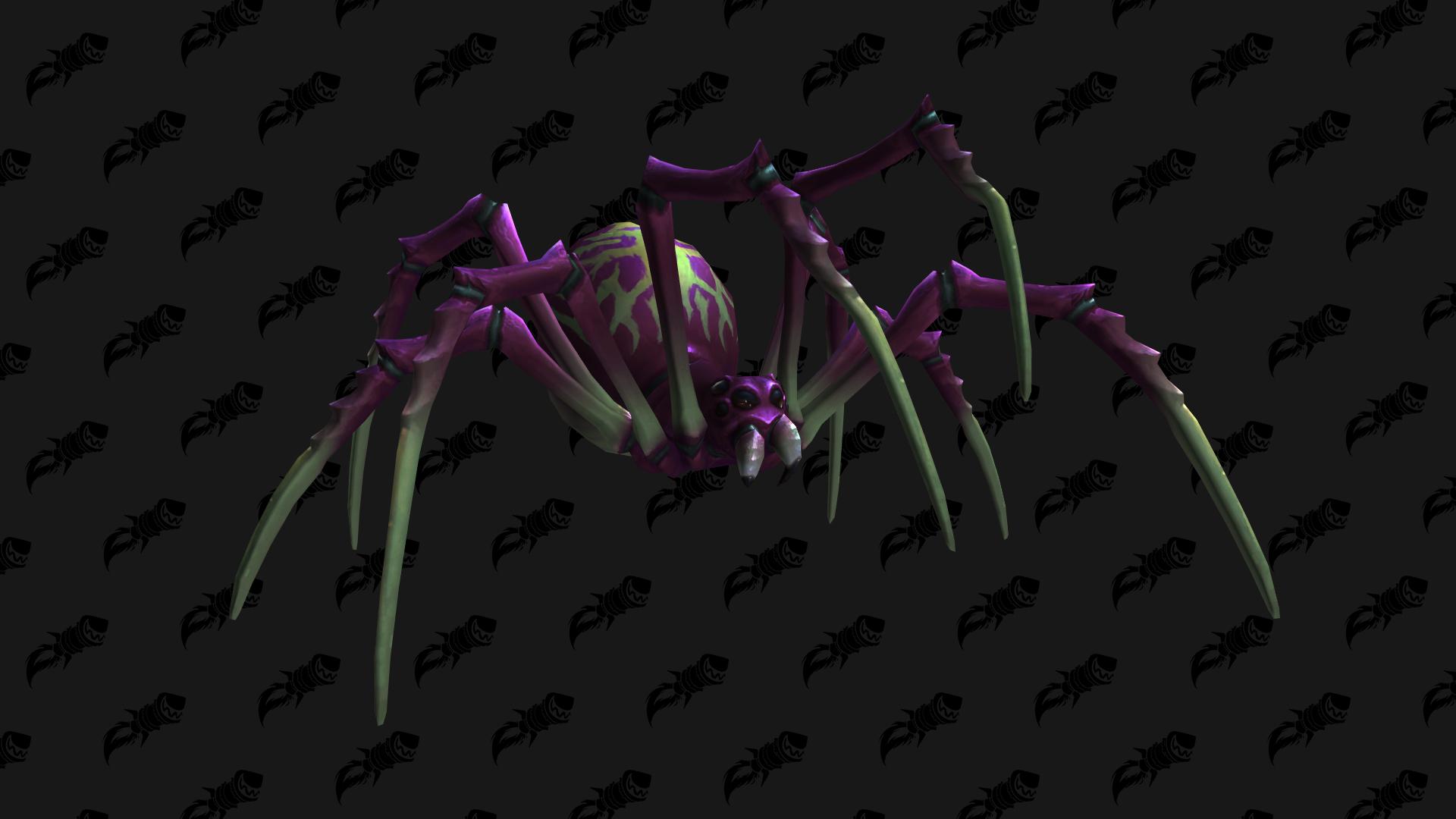 Crache-venin insaisissable, mascotte Shadowlands qui peut être obtenue à Maldraxxus