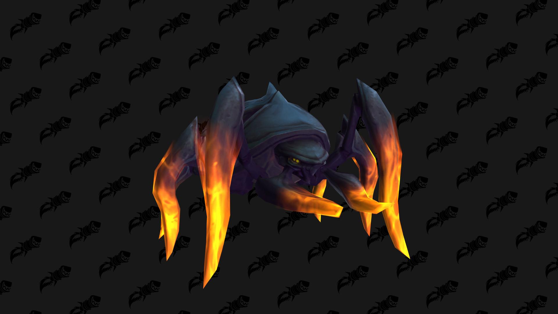 Hissing Deathroach, mascotte Shadowlands qui peut être obtenue à Tourment, la tour des damnés