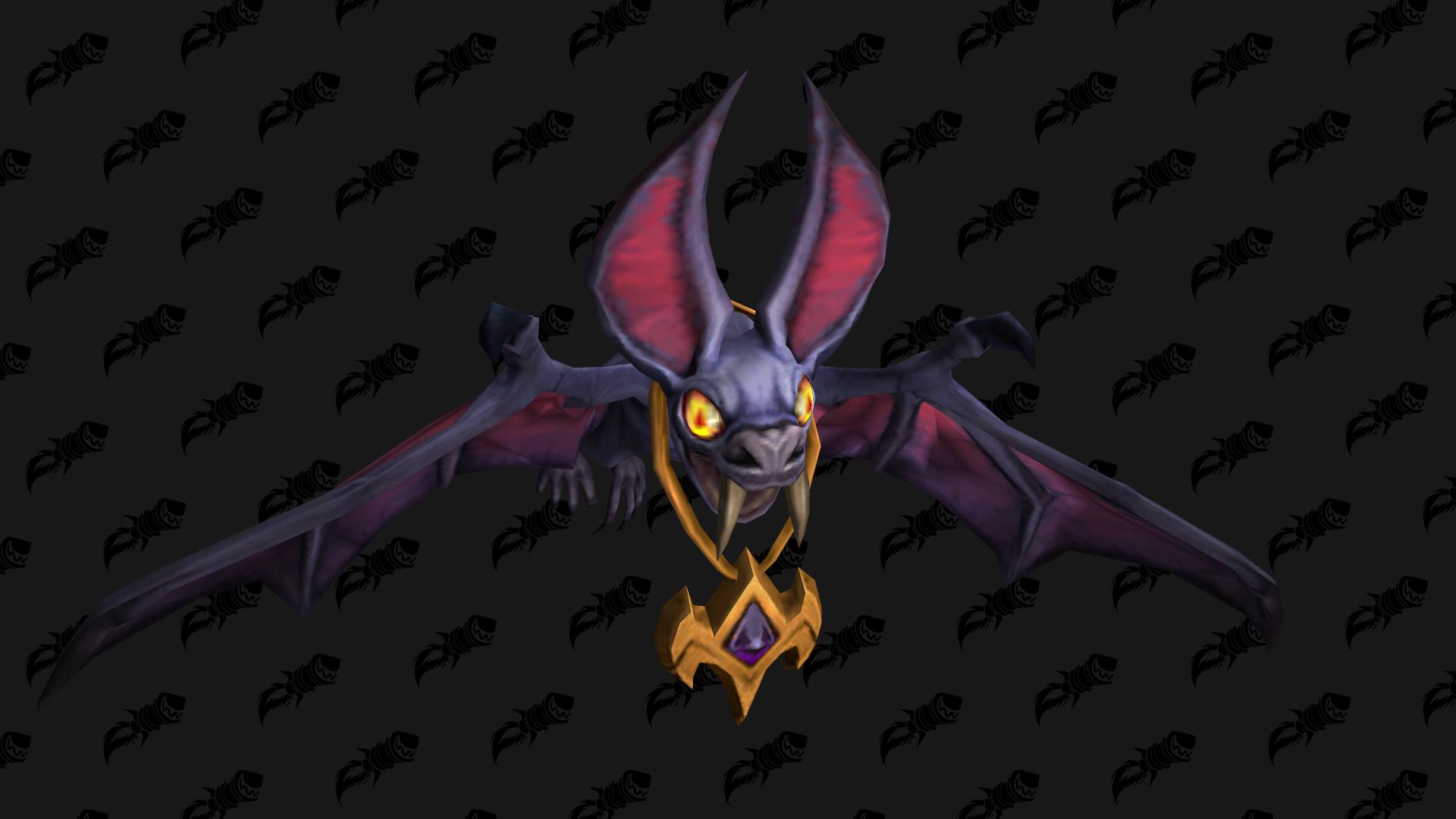 Sinfall Screecher, mascotte Shadowlands qui peut être obtenue à Revendreth