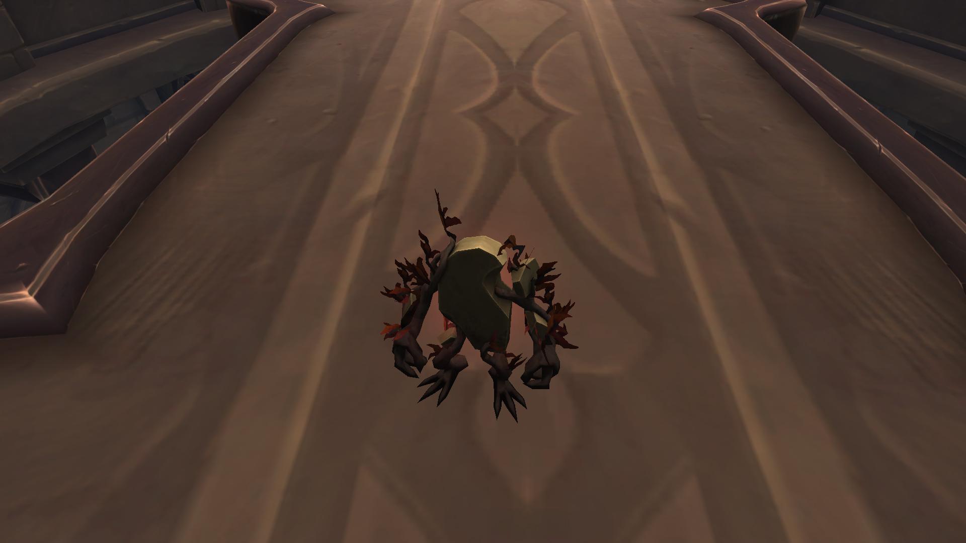 Vicecoeur, mascotte Shadowlands disponible auprès de la congrégation des Venthyrs