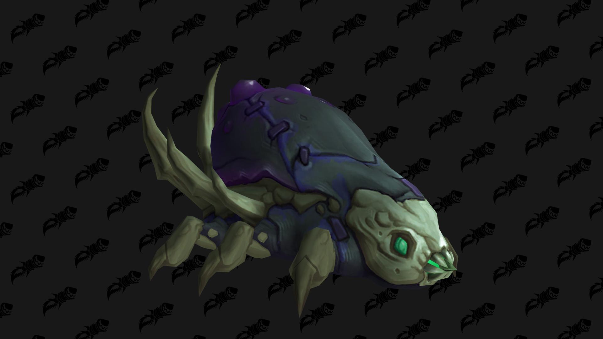 Corpselouse Larva, mascotte Shadowlands disponible en butin à Maldraxxus