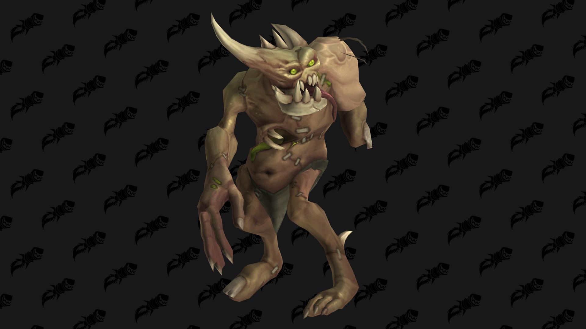 Ergot, mascotte Shadowlands disponible auprès de la faction Armée immortelle