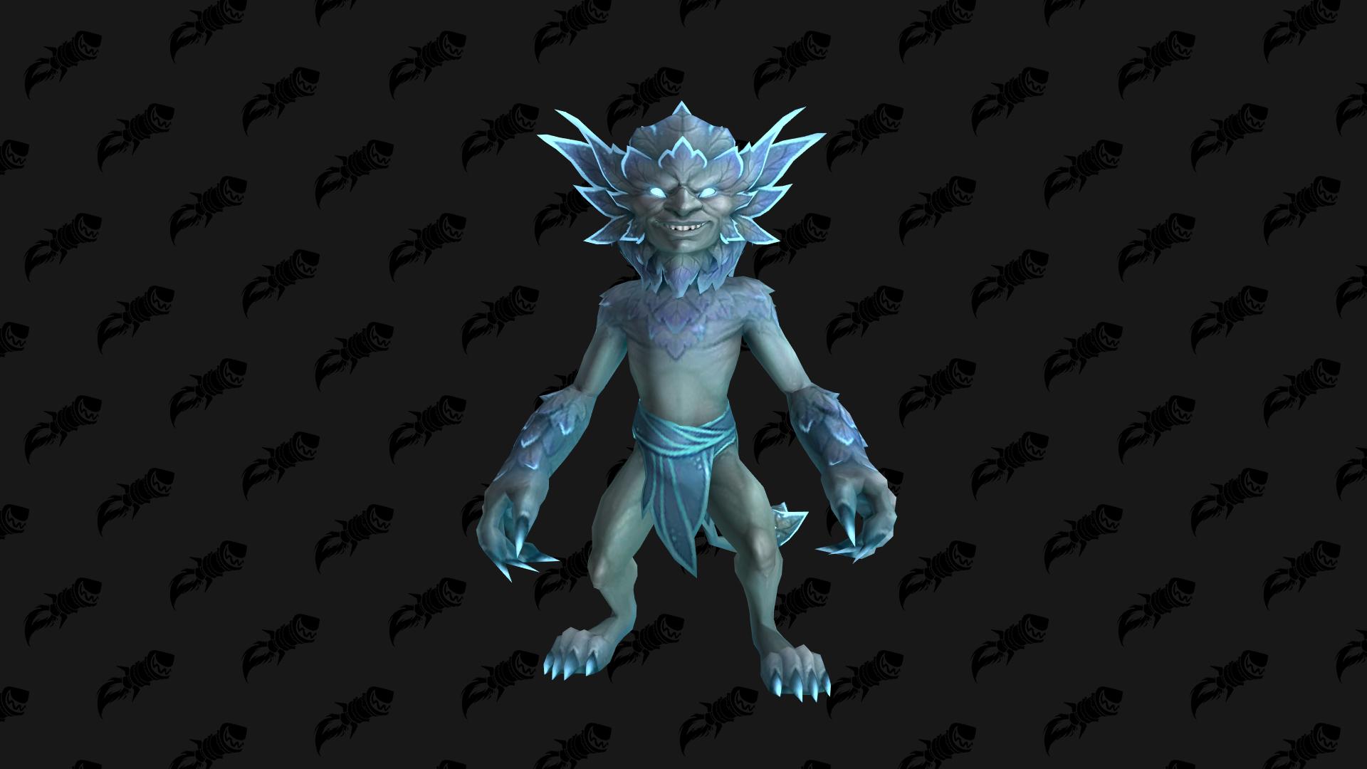Winterleaf Spriggan, mascotte Shadowlands qui peut être obtenue en réalisant un haut-fait