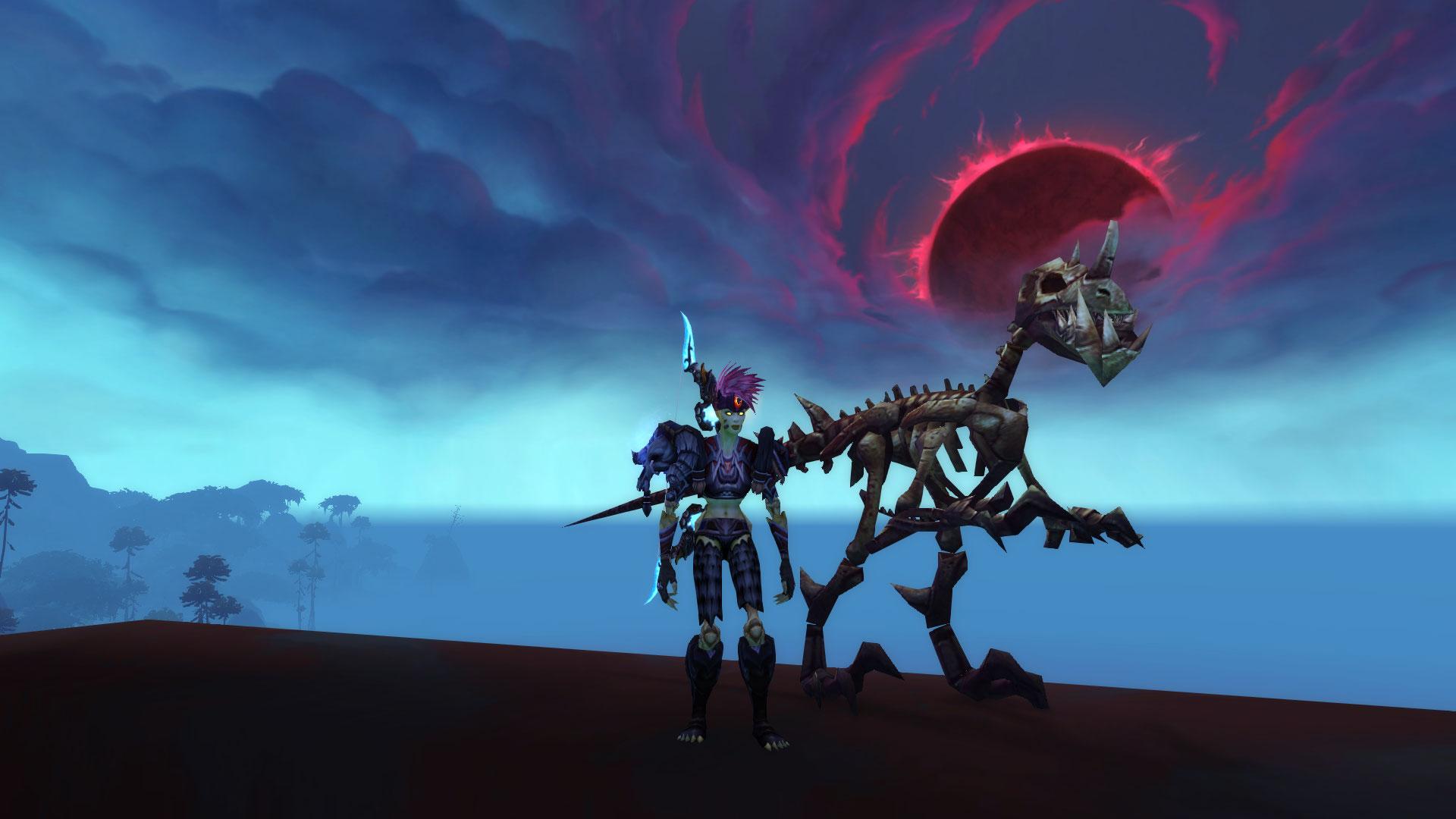 Patch 9.0 : Les Chasseurs réprouvés peuvent dompter les raptor squelettiques
