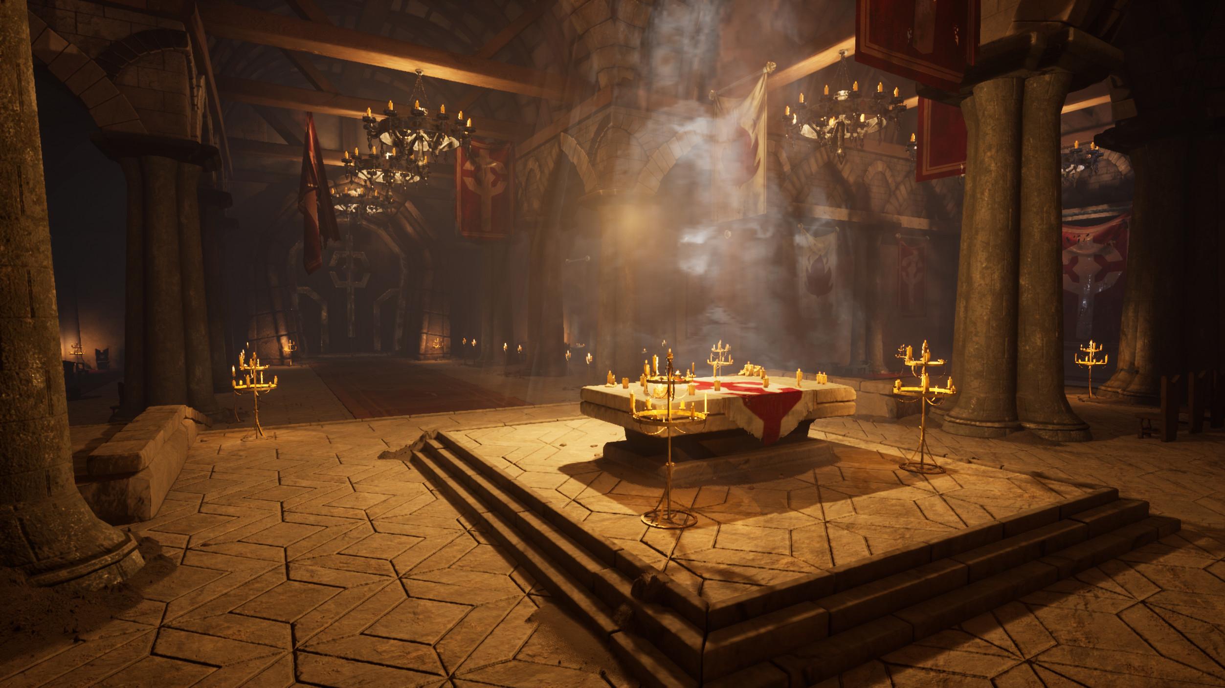 Monastère écarlate (Unreal Engine 4) par David Chan