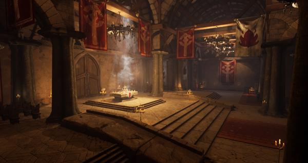 unreal engine : david chan reproduit le monastere ecarlate