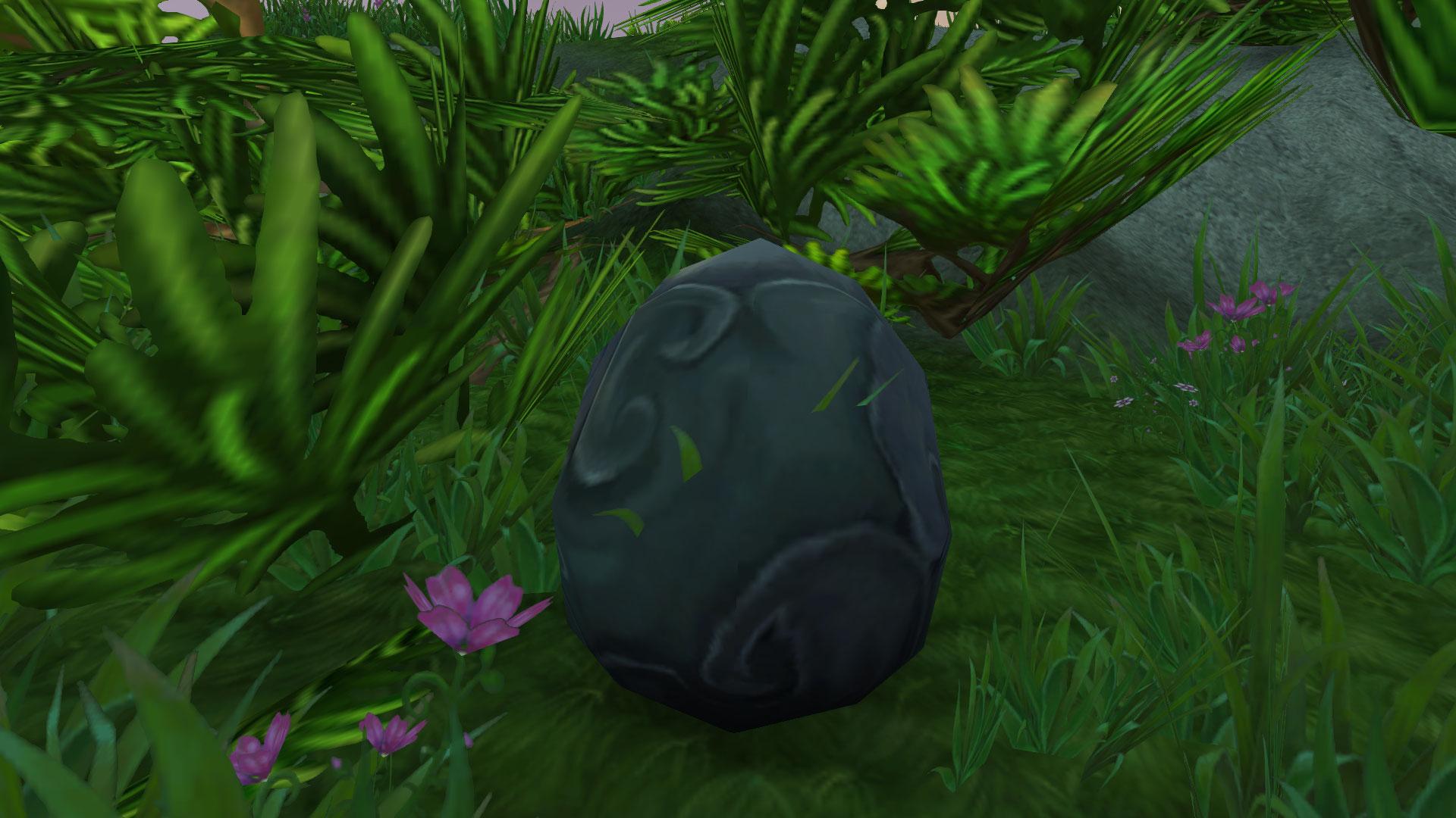 Trouvez les Oeufs d'Onyx sur l'île