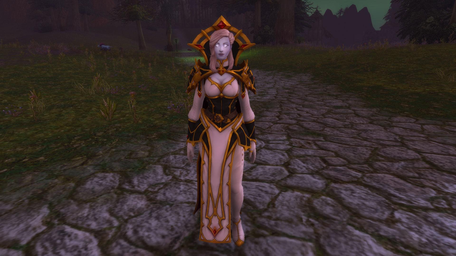 Calia Menethil, héritière de Lordaeron, ressuscitée grâce à la Lumière