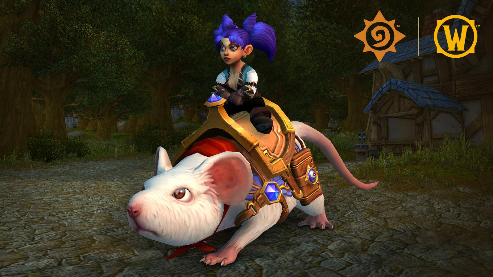 Sergent est une nouvelle monture pour World of Warcraft