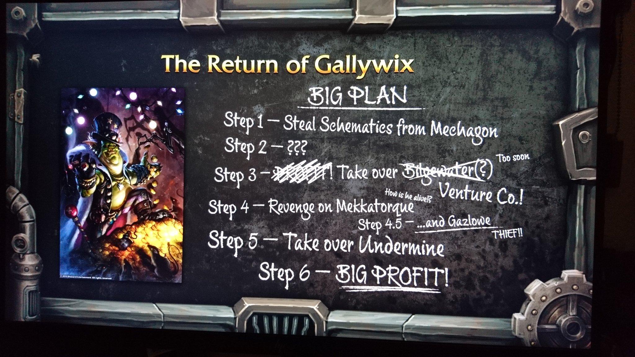 Le retour du Prince marchand Gallywix