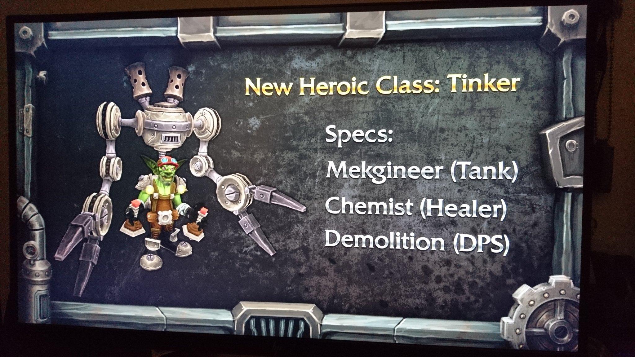 Undermine : Nouvelle classe héroïque, le Bricoleur