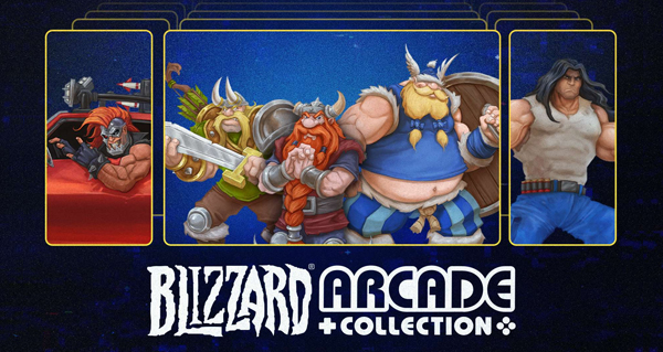 blizzard arcade collection : ajout de lost vikings 2 et de rpm racing