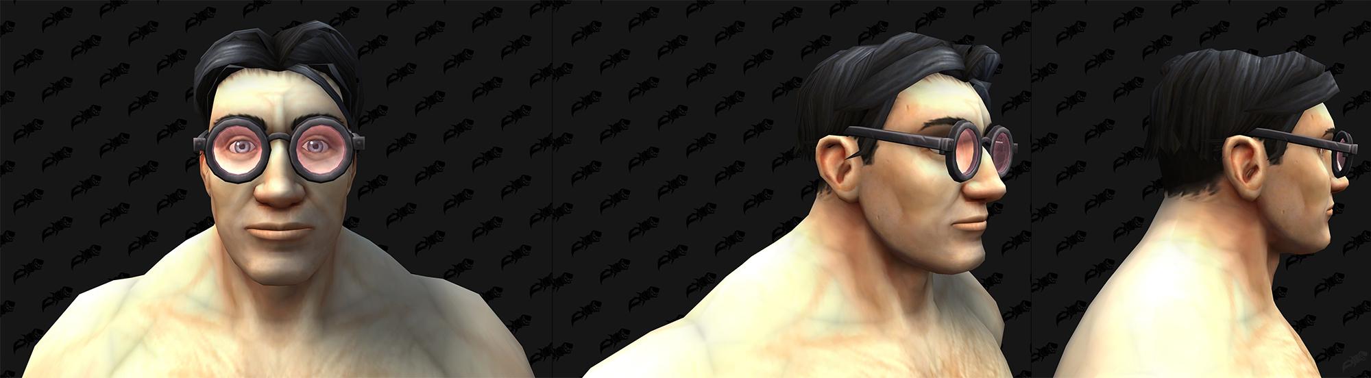 6 paires de lunettes ont été ajoutées aux fichiers du patch 9.1 de Shadowlands