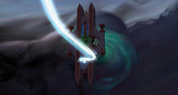 patch 9.1 : le ciel d'oribos s'assombrit lors de la prochaine mise a jour