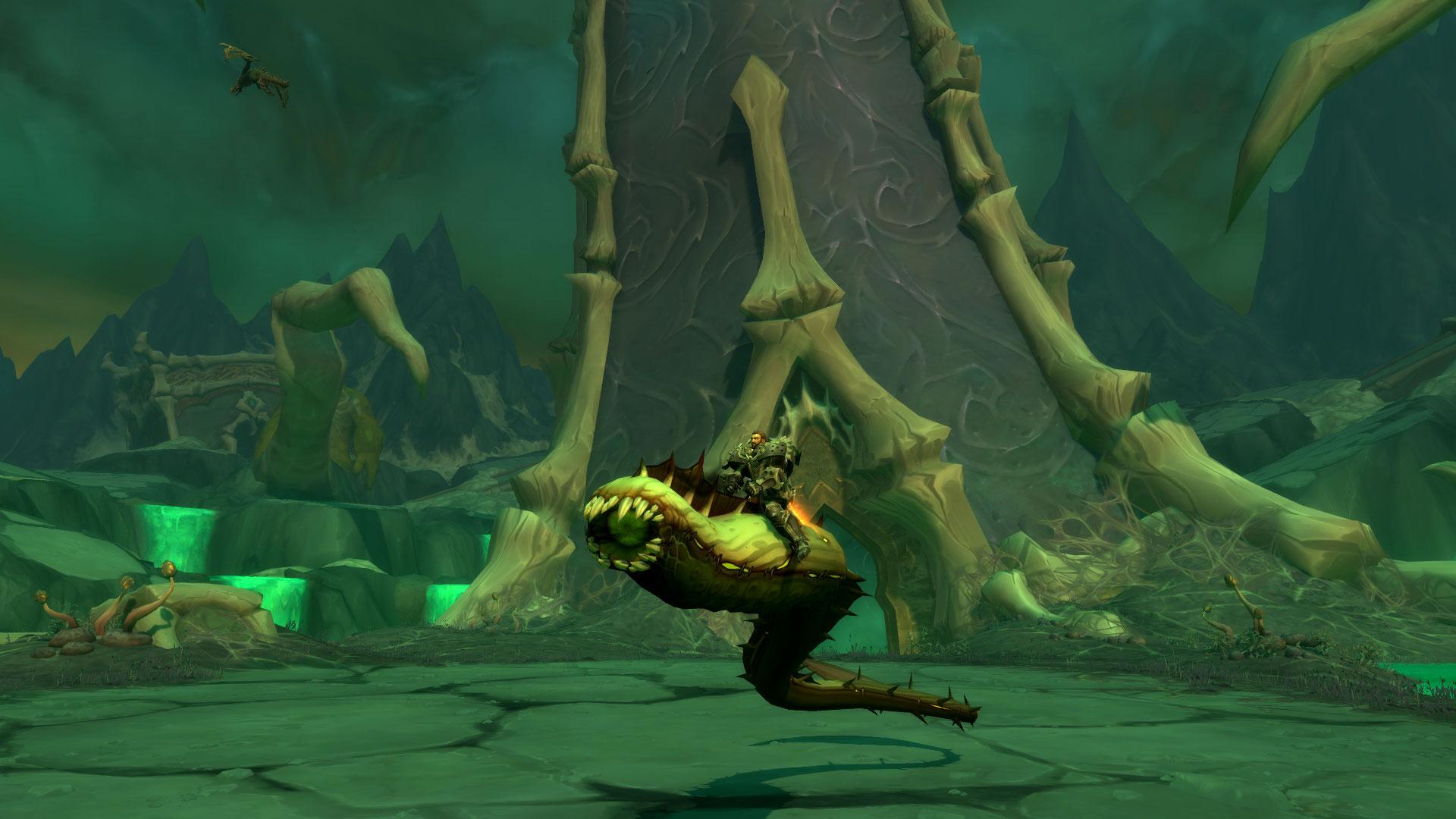 Le Serpent visqueux de Touch fait partie des montures secrètes de Shadowlands