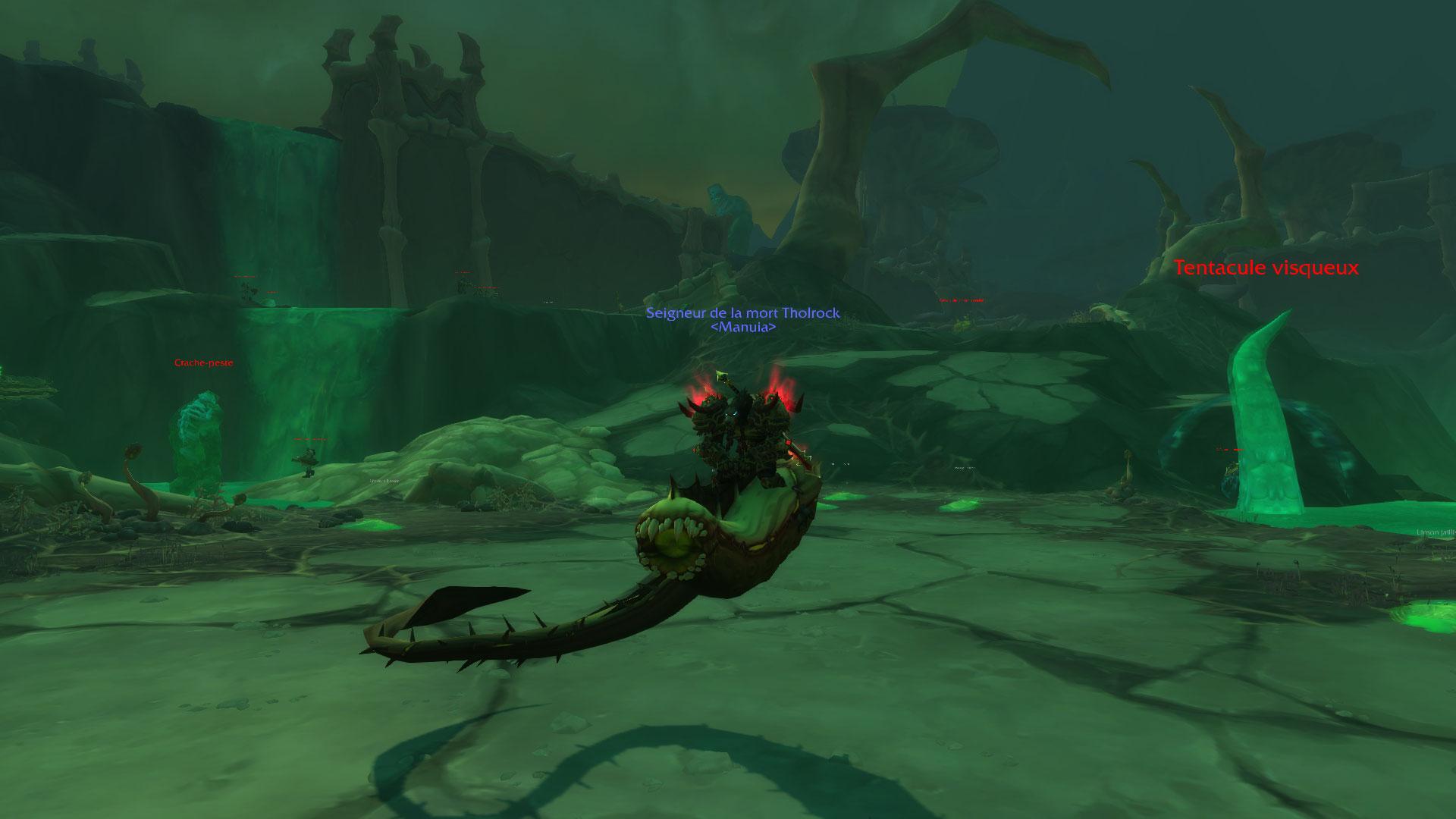 Tholrock et la monture secrète de Shadowlands