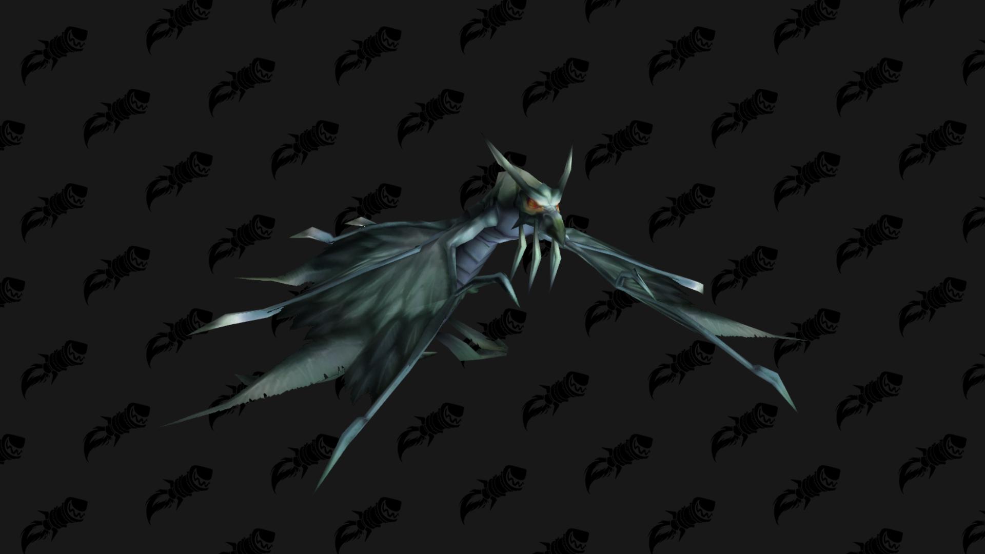 La monture Illidari Doomhawk figure dans les fichiers du patch 9.1 pour le 17ème anniversaire de WoW
