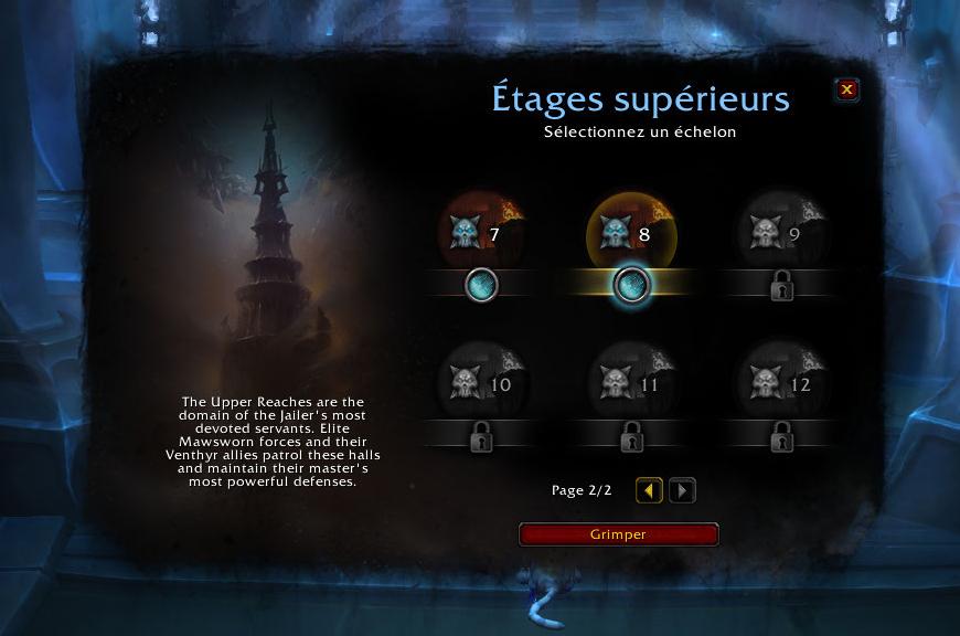 Tourment (patch 9.1) : 4 nouveaux échelons ajoutés au jeu