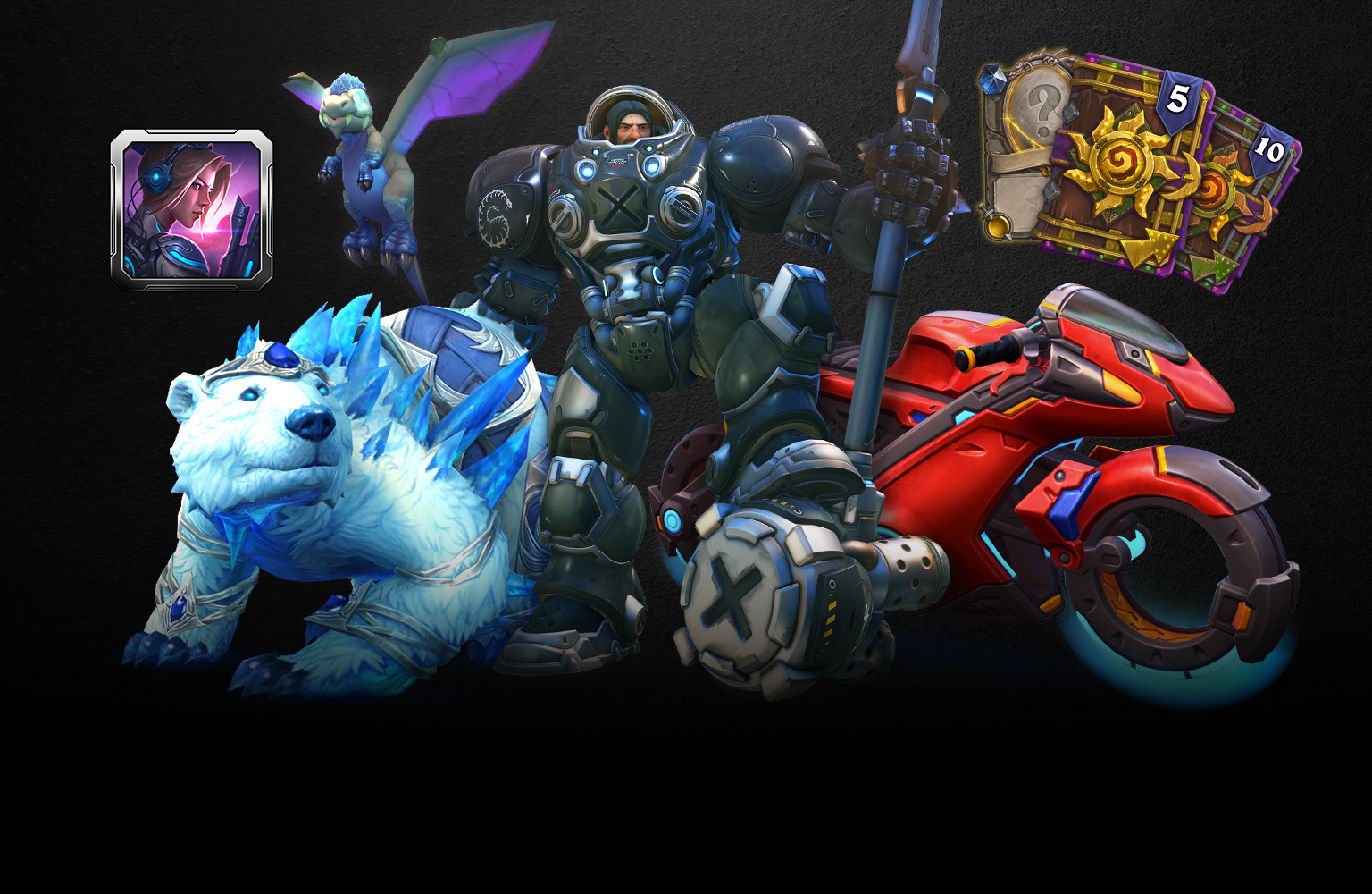 Pack 30ème anniversaire des jeux Blizzard
