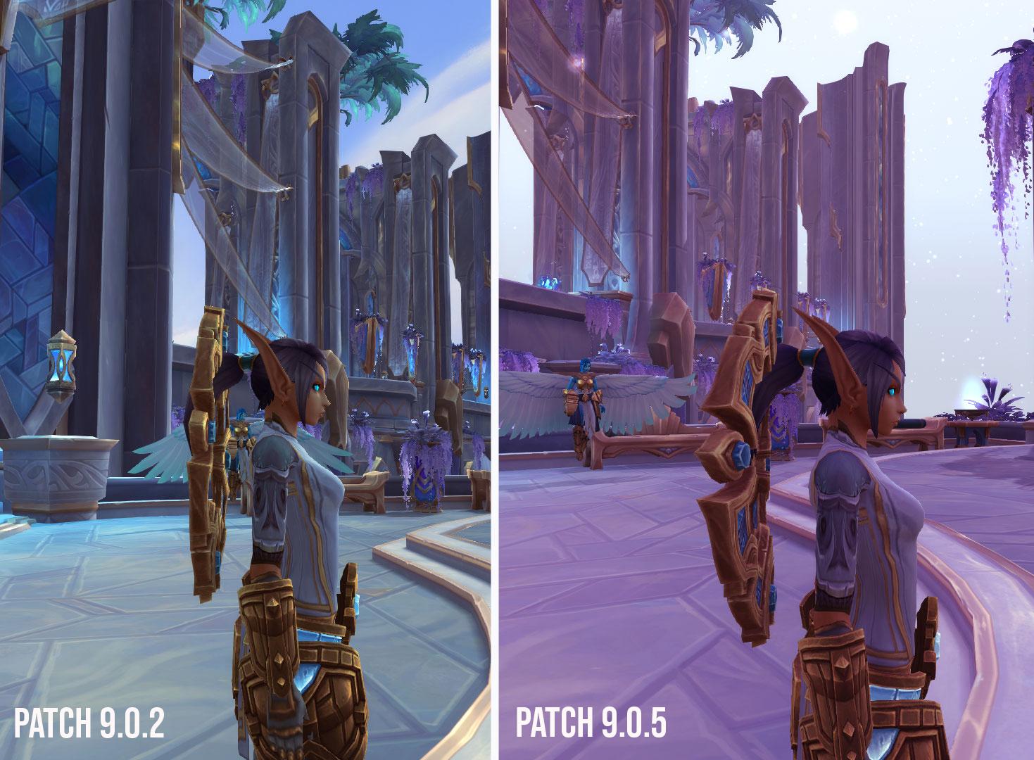 Modifications pour le Halo des Kyrians au patch 9.0.5