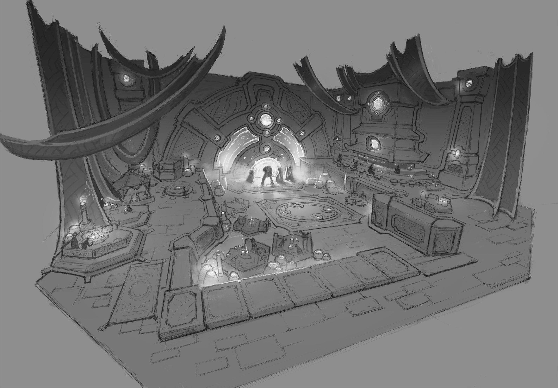 Concept et artwork du patch 9.1