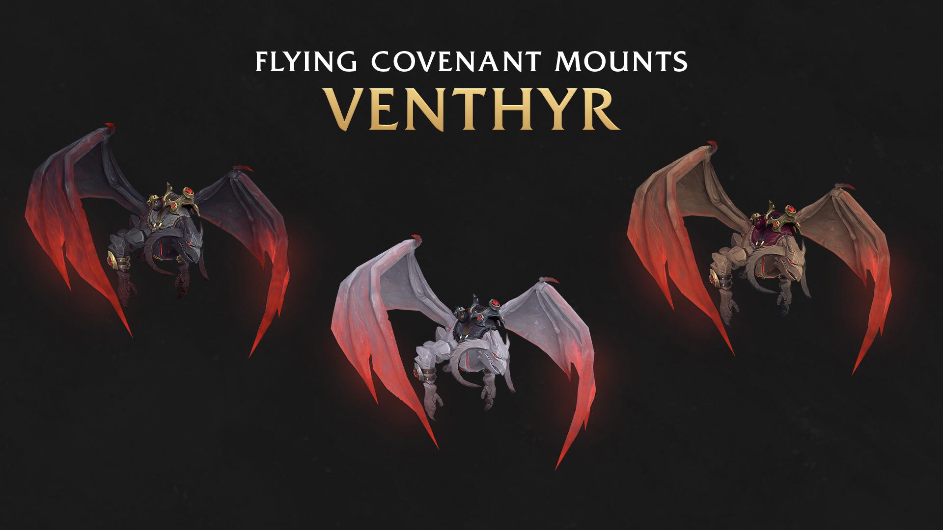 Monture de congrégation au patch 9.1 : Venthyrs